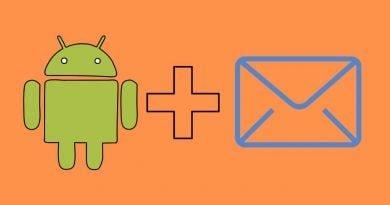 android cihazlarda e-posta kurulumu