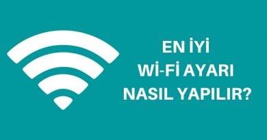 en iyi wifi ayarı