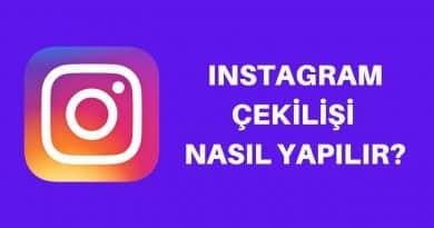 instagram çekiliş yapma