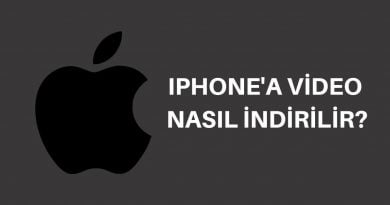 iphone video indirme