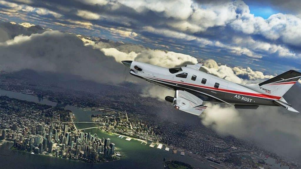 Microsoft Flight Simulator 2020 canlı hava durumu