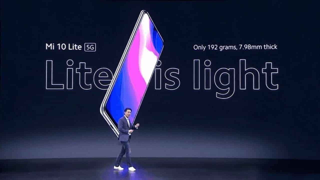 Xiaomi Mi 10 Lite 5G'nin Bazı Özellikleri ve Fiyatı Belli Oldu