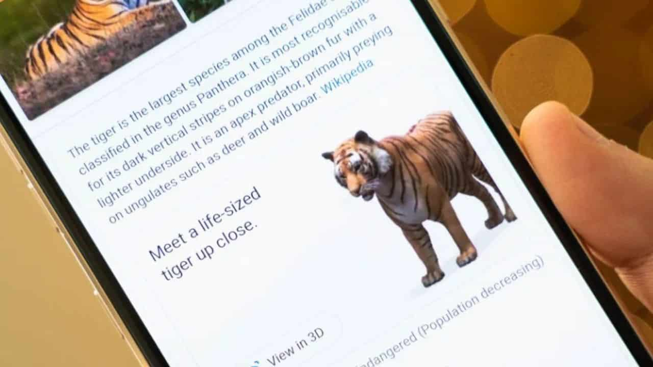 Google 3B hayvanlar