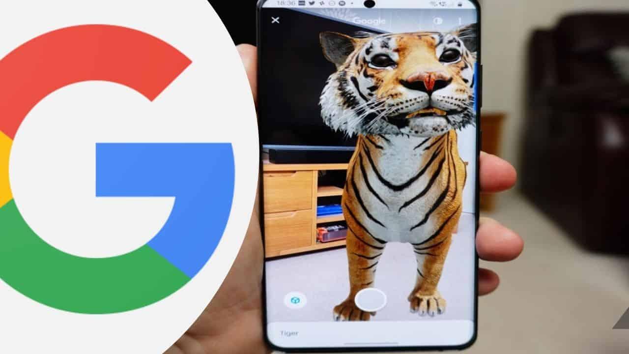 google 3d hayvanlar