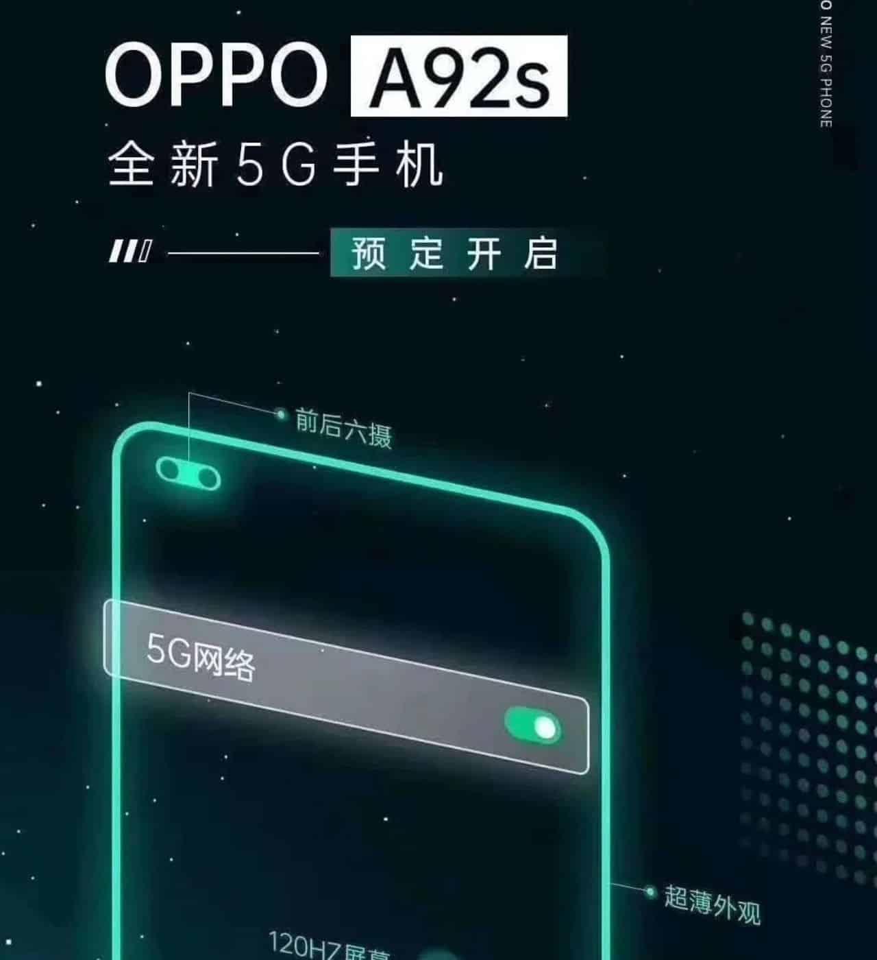 oppo a92s özellikleri