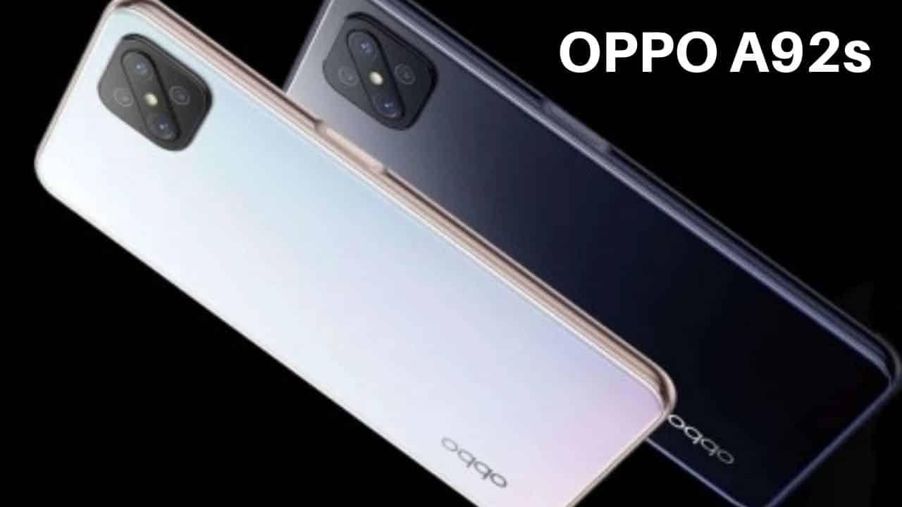 OPPO Yeni Akıllı Telefonu A92s'yi Tanıttı