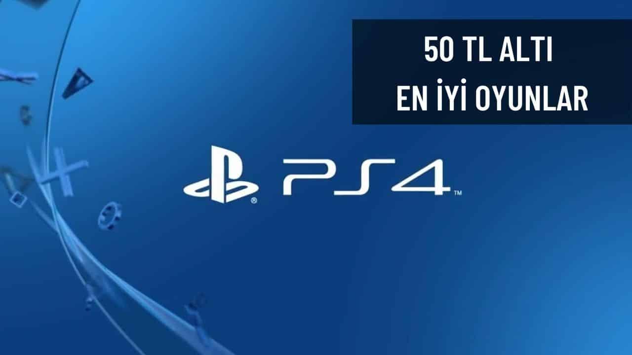 50 TL ve Altına Alınabilecek En İyi 5 PlayStation 4 Oyunu