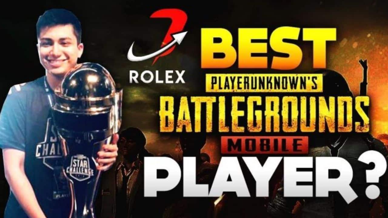 rolexxx en iyi pubg oyuncusu