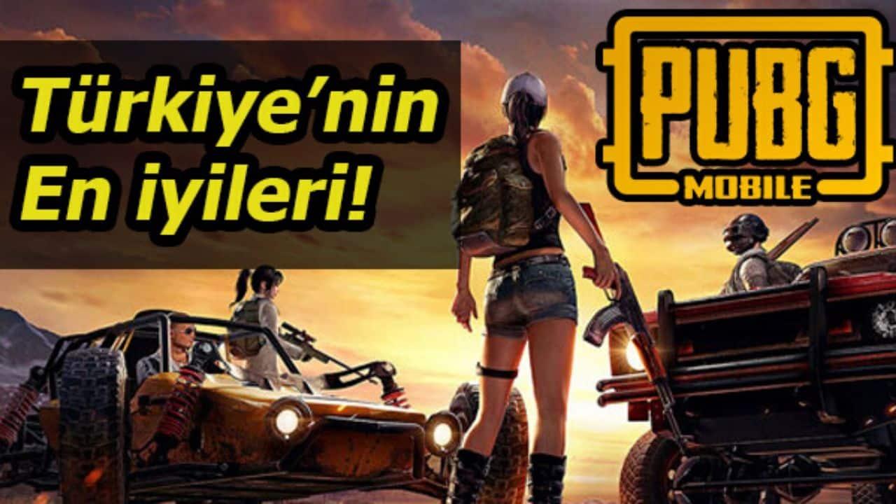 Türkiye'nin En İyi Pubg Mobile Oyuncuları