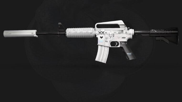 M4A1-S PRINTSTREAM cs go yeni silah görünümü